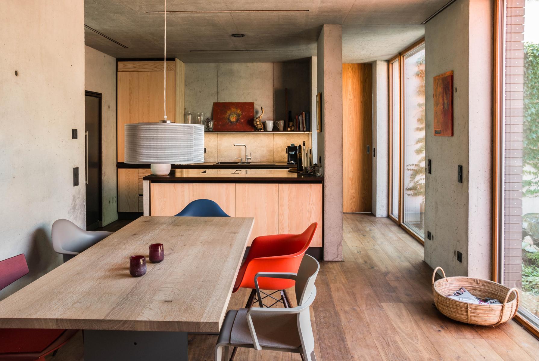 anbau an bestehendes geb ude sennrich und schneider gmbb. Black Bedroom Furniture Sets. Home Design Ideas