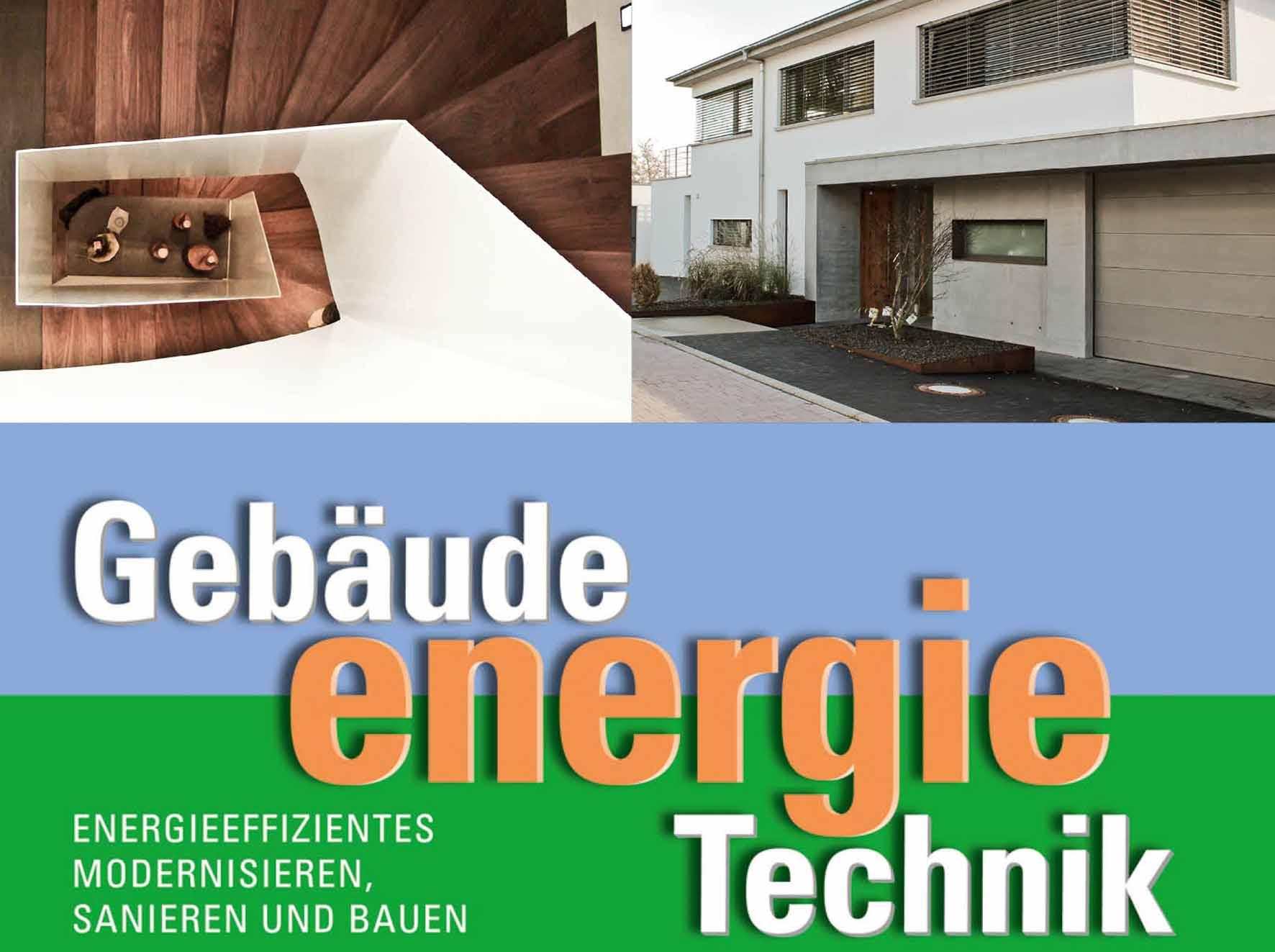 Das Plakat zur Getec mit einem Gebäude von Sennrich und Schneider