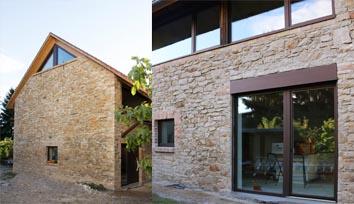 Eine umgebaute Scheune zu einem Wohnhaus von Architekten für Freiburg und Umgebung
