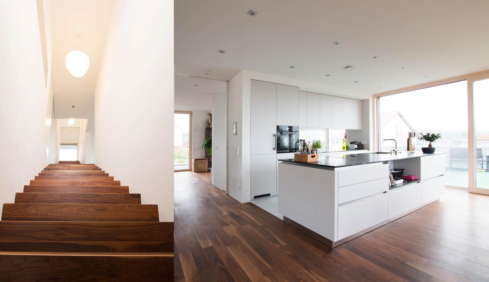 Neubau modernes Einfamilienhaus   Sennrich und Schneider GmbB