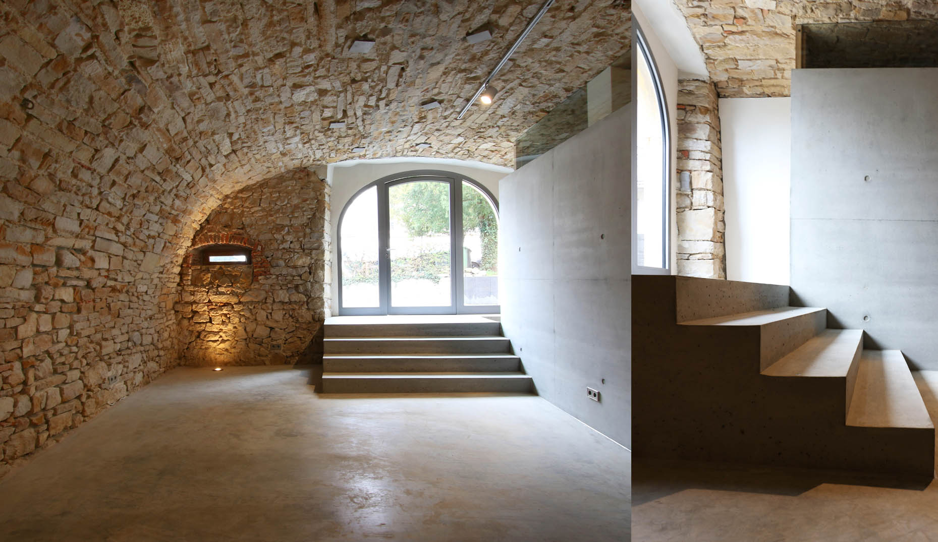 Der neue Eingangsbereich des Weinguts in Ehrenstetten