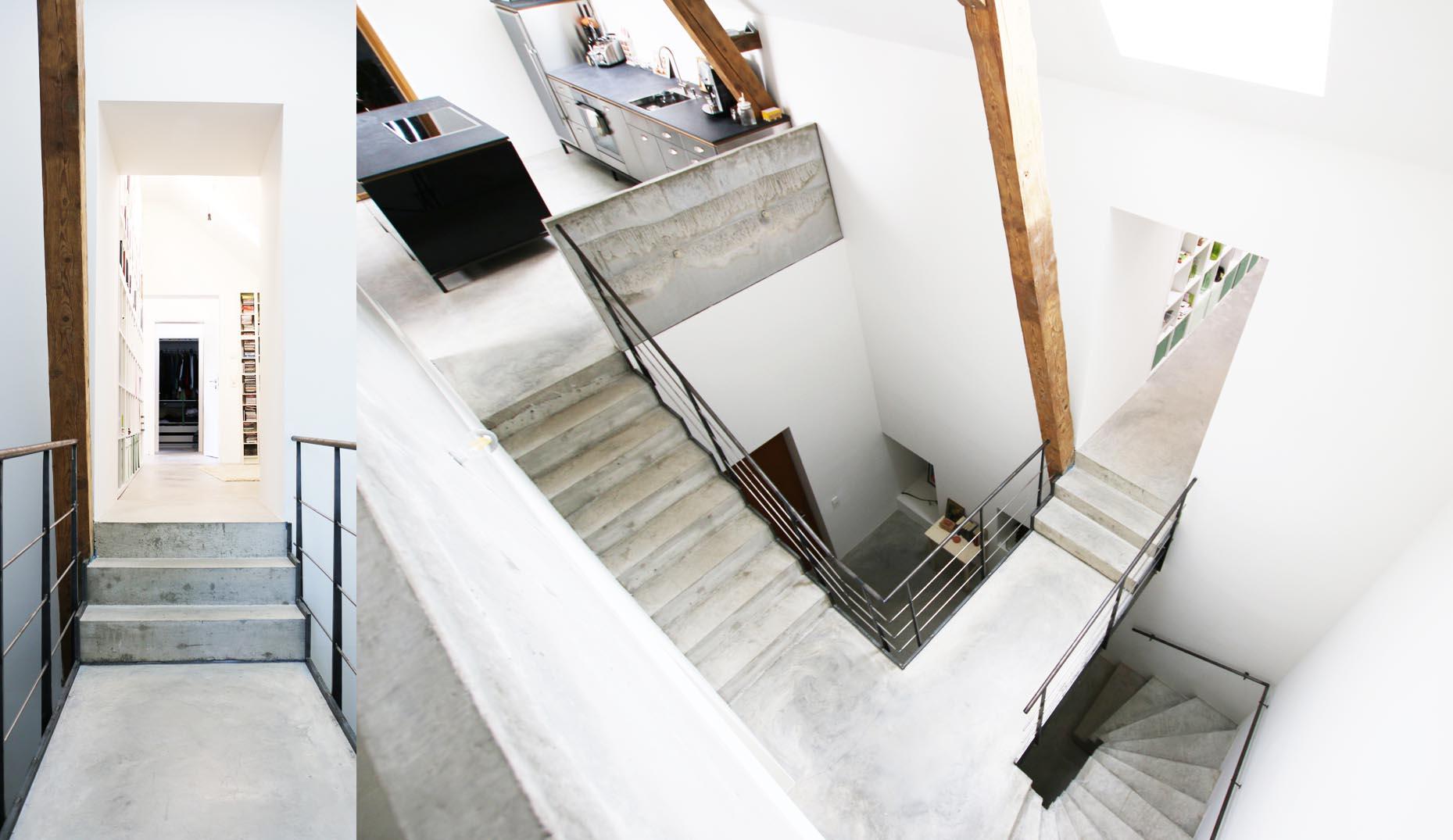 Ein Innenraum mit nachhaltigen Elementen