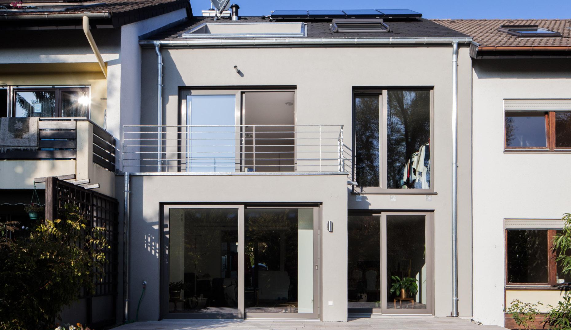 Modernisierung Reihenhaus Architekturbüro Sennrich Schneider