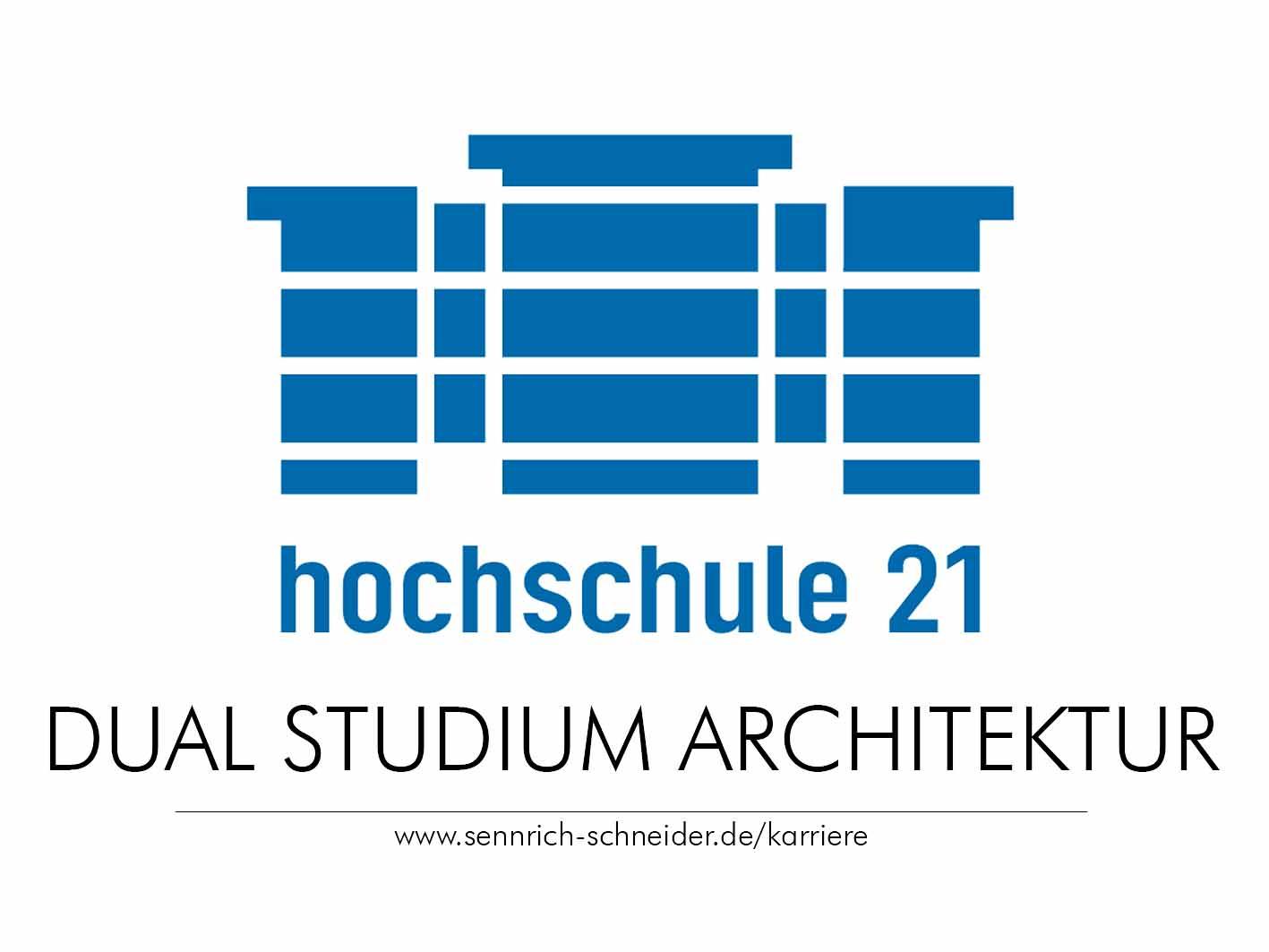 Logo für Dual studieren Architektur